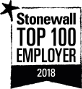 Stonewall Top 100 Employer 2018