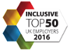 Inclusive Top 50 Employer